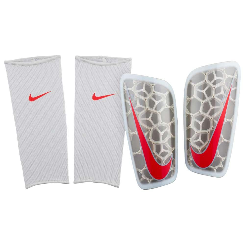 ナイキ Nike ユニセックス サッカー プロテクター【Mercurial Flylite】Pure Platinum/Wolf Grey/Bright Crimson