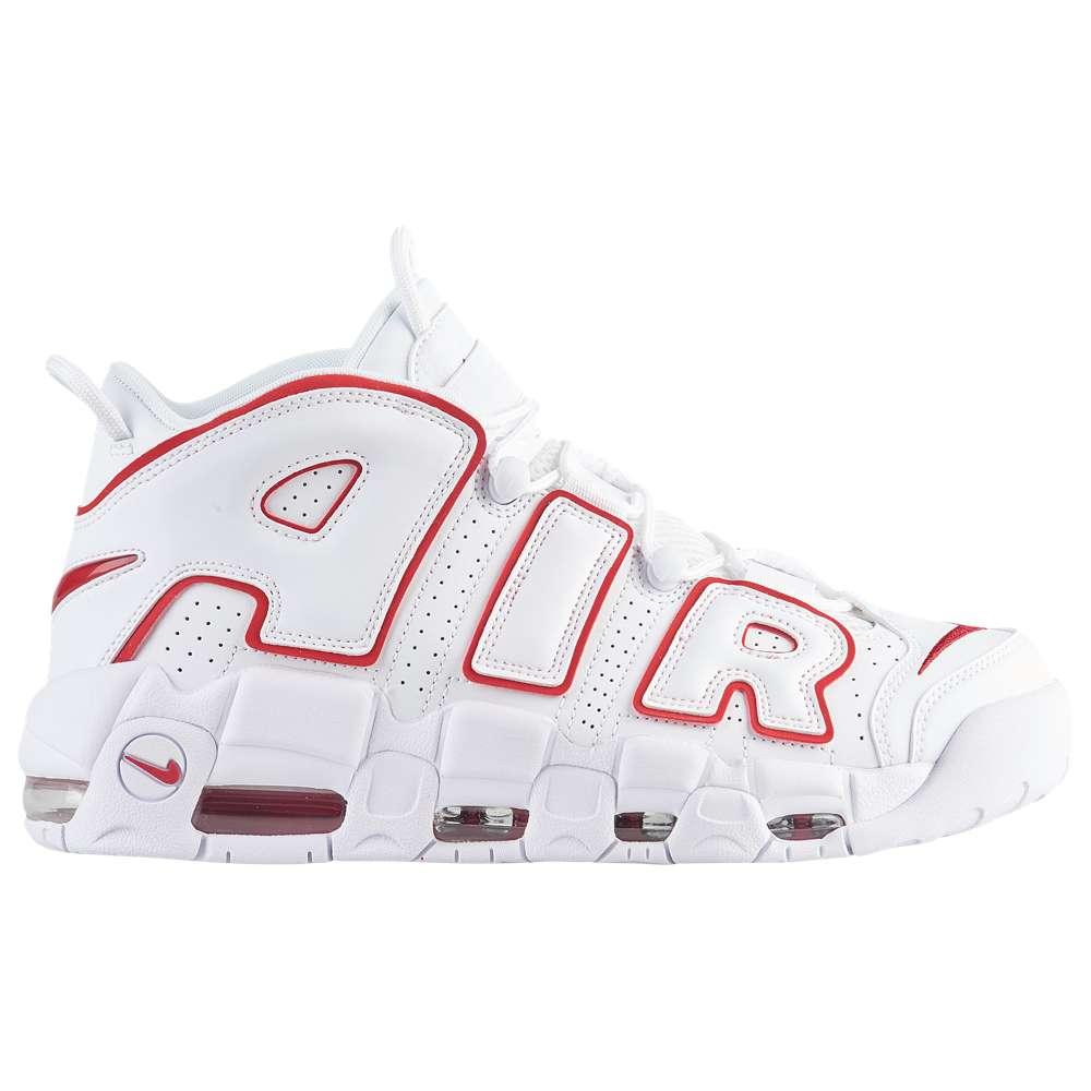 ナイキ Nike メンズ バスケットボール シューズ・靴【Air More Uptempo '96】White/Varsity Red/White