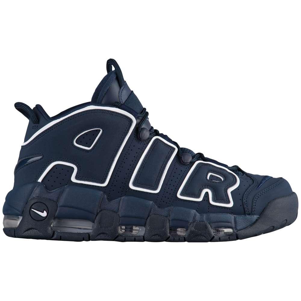 ナイキ Nike メンズ バスケットボール シューズ・靴【Air More Uptempo】Obsidian/Obsidian/White