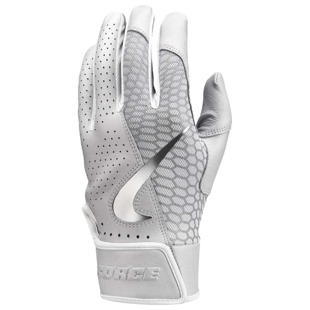 開店祝い ナイキ Nike メンズ 野球 Nike グローブ【Force Elite メンズ Batting Batting Glove】White/White/Black, Easyファニチャー:36fa138a --- wedding-soramame.yutaka-na-jinsei.com
