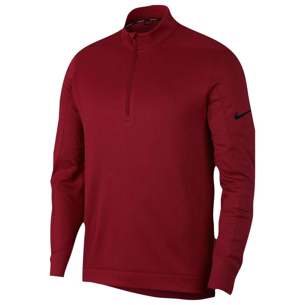 ナイキ Nike メンズ ゴルフ トップス【Therma Repel 1/2 Zip Golf Top】Team Crimson/Black