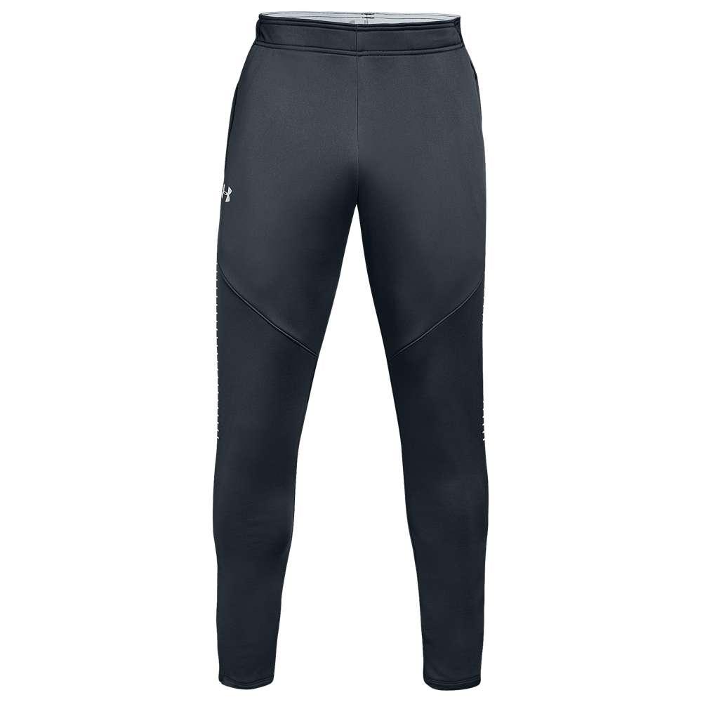 アンダーアーマー Under Armour メンズ ボトムス・パンツ スウェット・ジャージ【Team Qualifier Hybrid Warm-Up Pants】Steel Grey/White