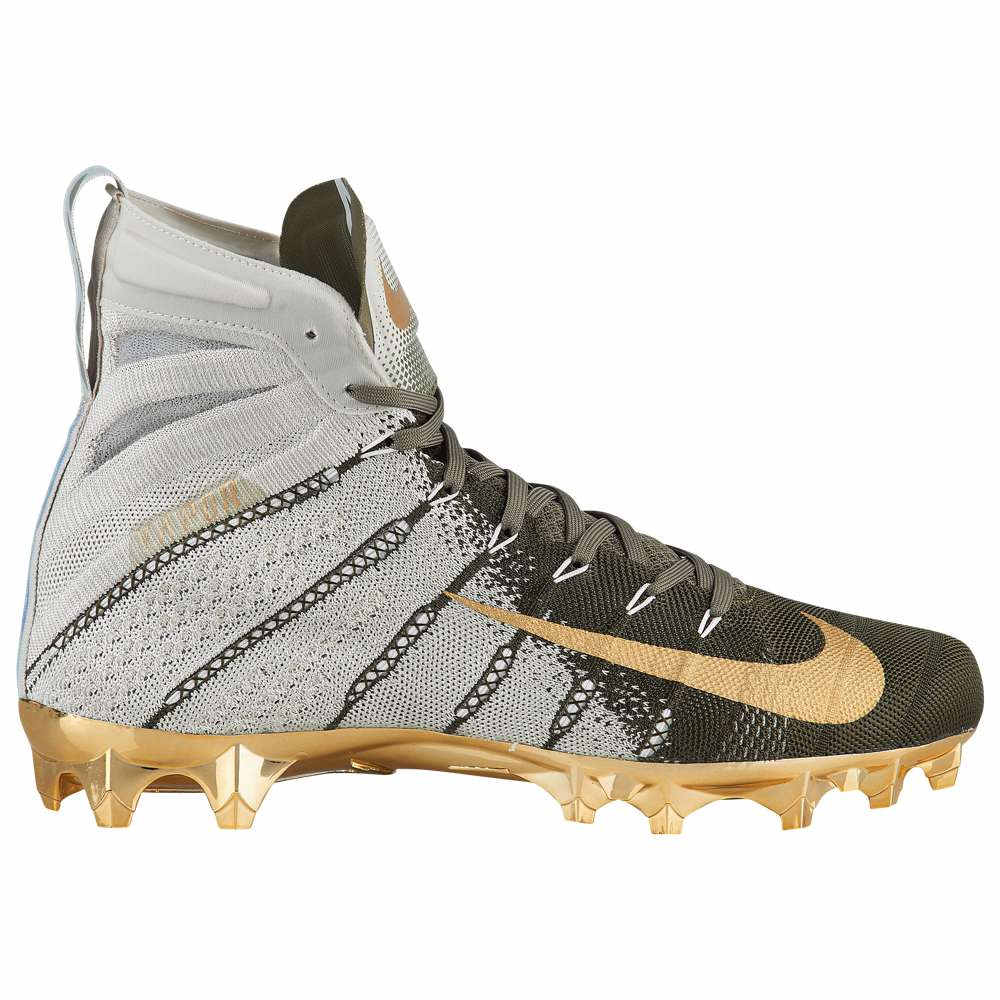 ナイキ Nike メンズ アメリカンフットボール シューズ・靴【Vapor Untouchable 3 Elite】Light Bone/Metallic Gold/Med Olive/Metallic Gold