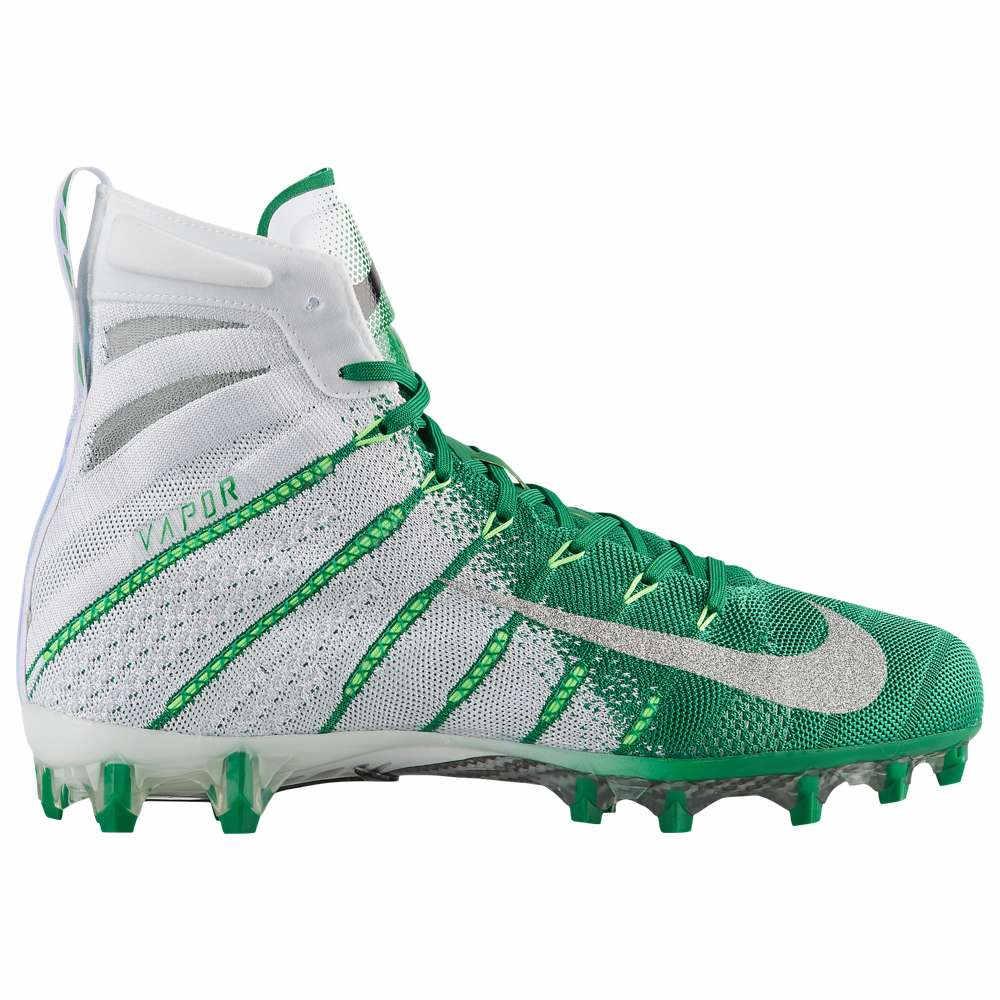 ナイキ Nike メンズ アメリカンフットボール シューズ・靴【Vapor Untouchable 3 Elite】White/Metallic Silver/Rage Green/Photo Blue