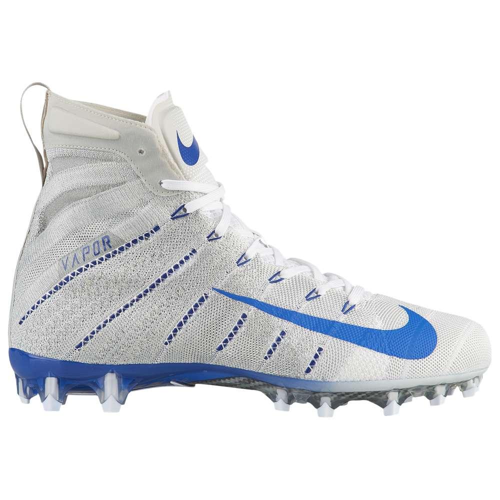 ナイキ Nike メンズ アメリカンフットボール シューズ・靴【Vapor Untouchable 3 Elite】White/Game Royal/Light Bone/Game Royal