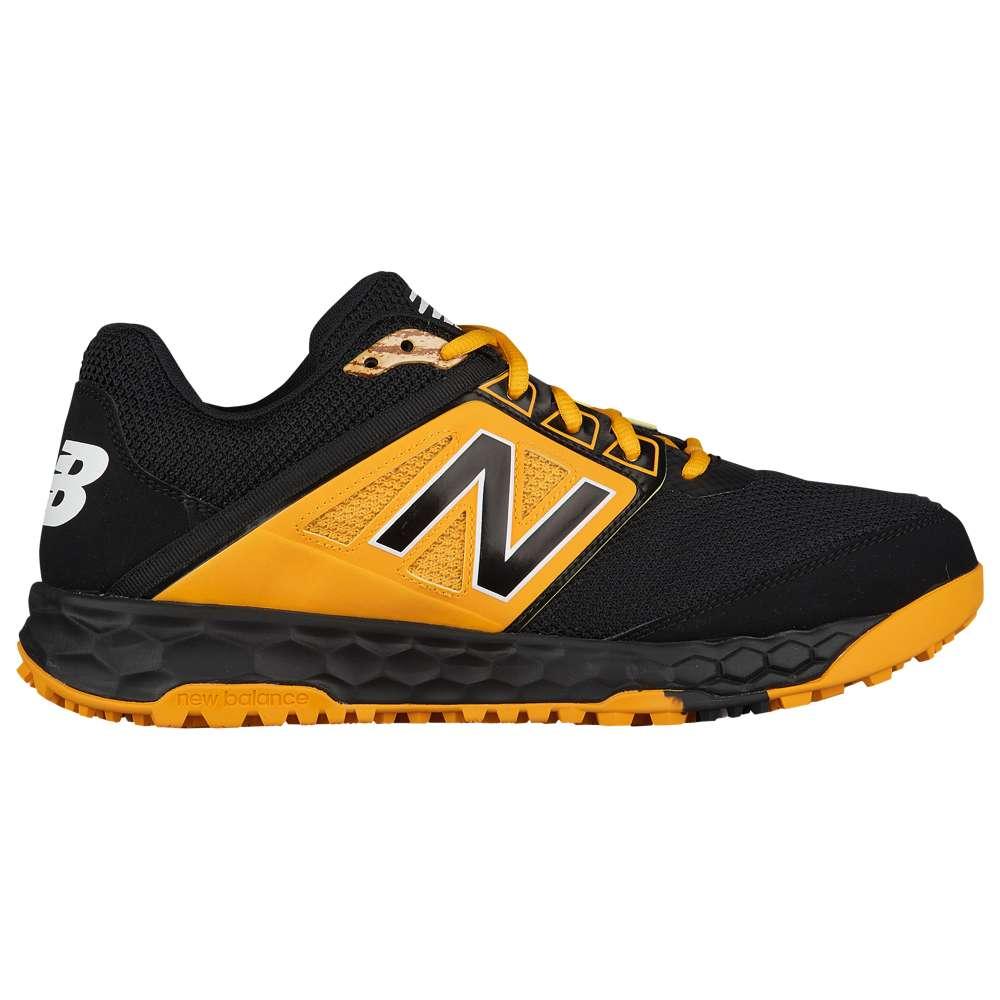 ニューバランス New Balance メンズ 野球 シューズ・靴【3000v4 Turf】Black/Yellow