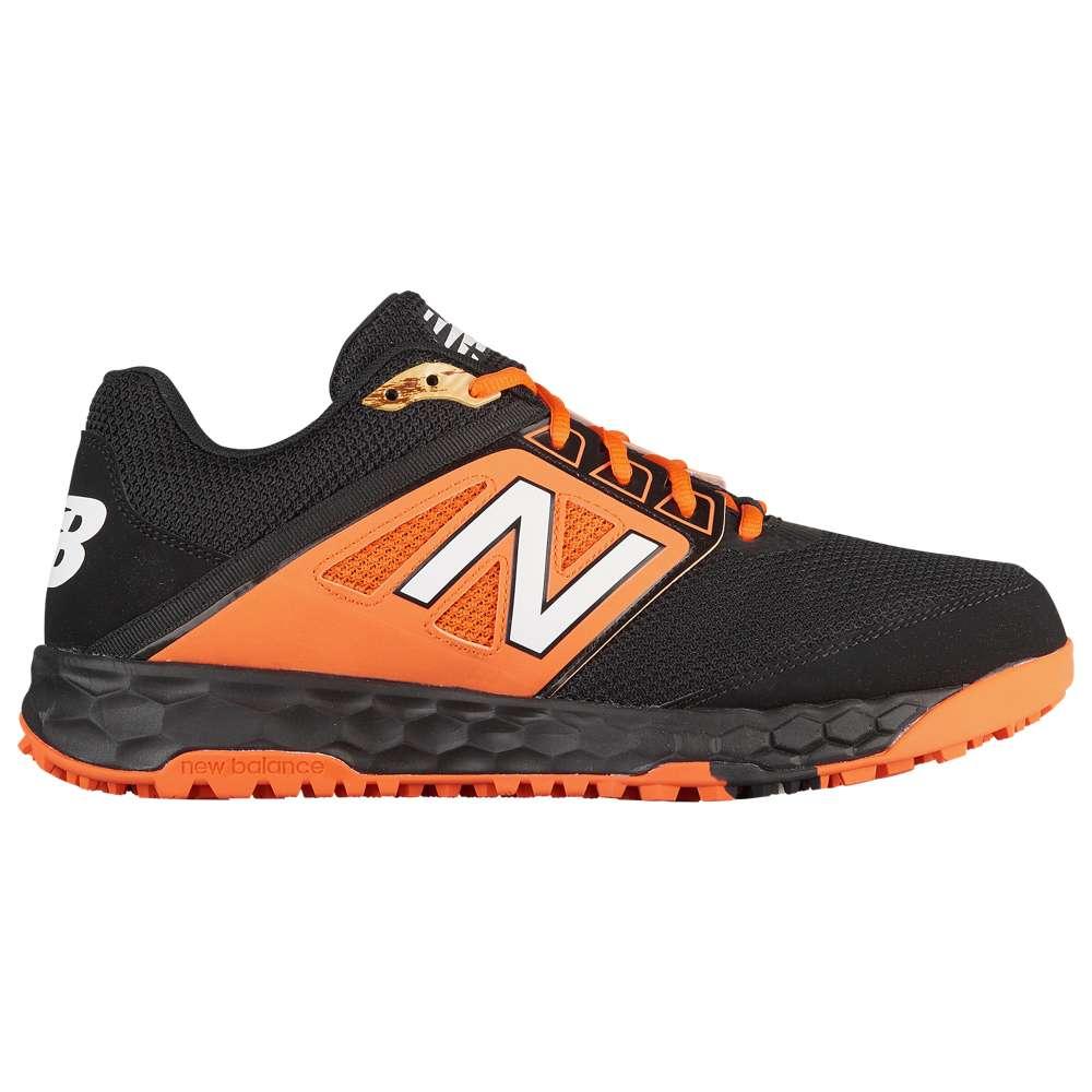 ニューバランス New Balance メンズ 野球 シューズ・靴【3000v4 Turf】Black/Orange