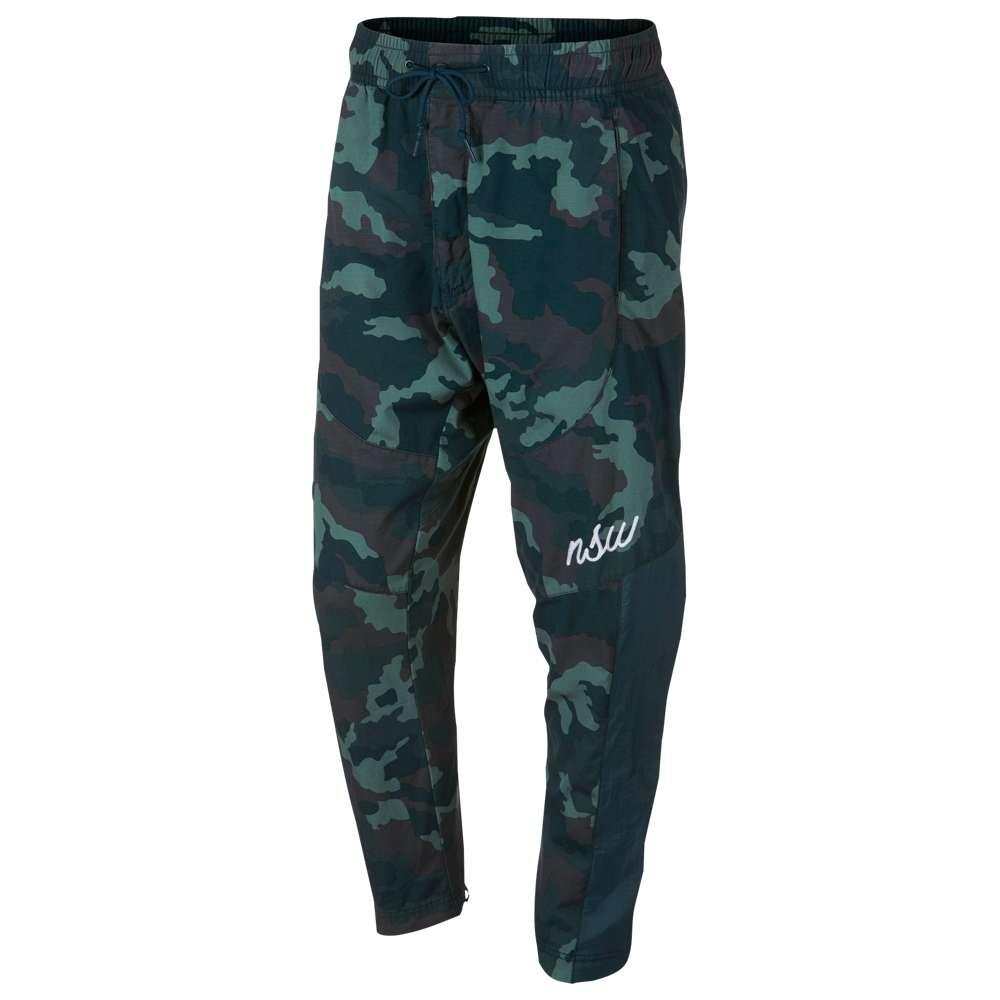 ナイキ Nike メンズ ボトムス・パンツ スウェット・ジャージ【Woven Camo Pants】Midnight Spruce/White