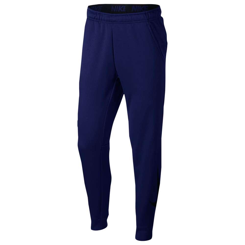 ナイキ Nike メンズ フィットネス・トレーニング ボトムス・パンツ【Therma Tapered Pants】Blue Void/Black