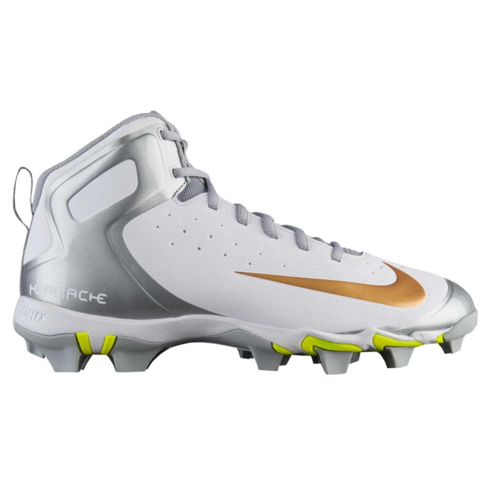 ナイキ Nike メンズ 野球 シューズ・靴【Alpha Huarache Keystone】White/Metallic Gold/White/Wolf Grey