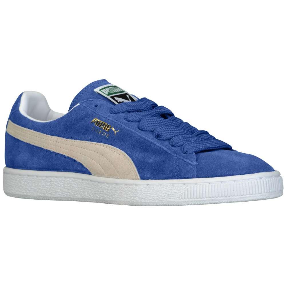 プーマ PUMA メンズ バスケットボール シューズ・靴【Suede Classic】Olympian Blue/White