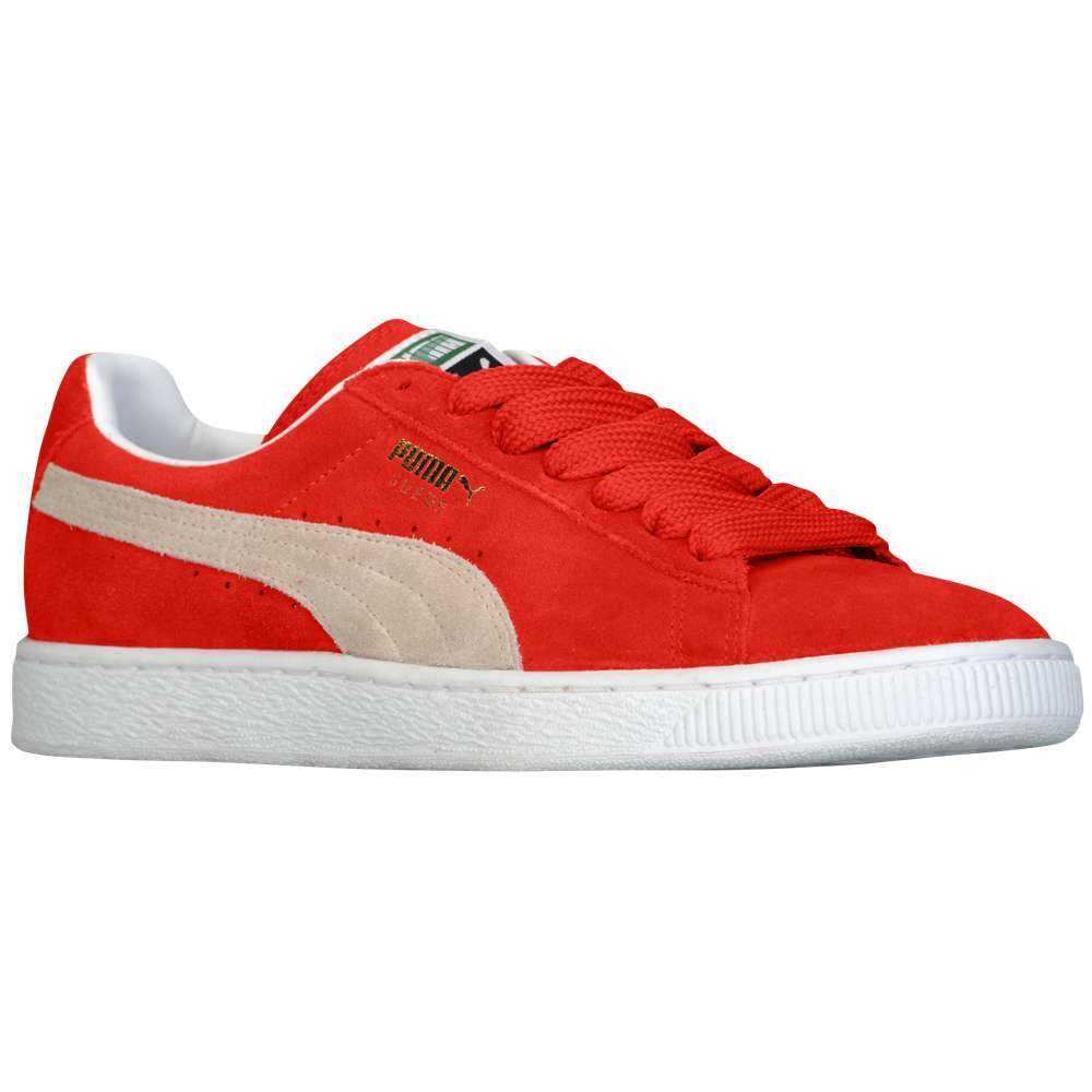 プーマ PUMA メンズ バスケットボール シューズ・靴【Suede Classic】High Risk Red/White