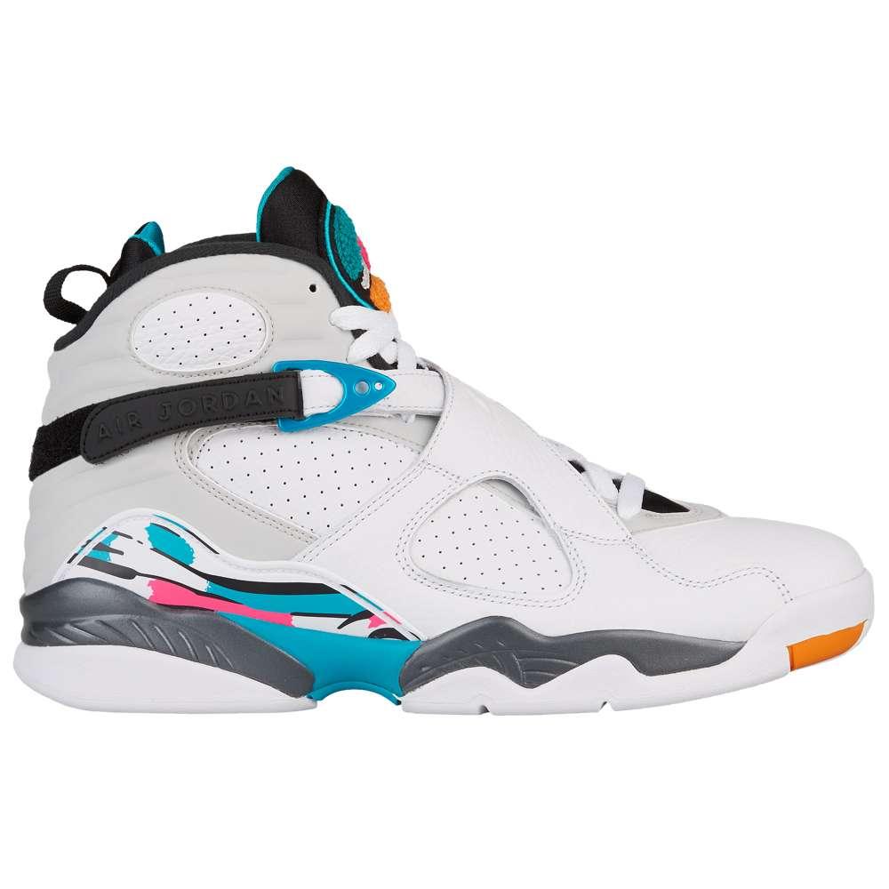 ナイキ ジョーダン Jordan メンズ バスケットボール シューズ・靴【Retro 8】White/White/Turbo Green/Hyper Pink