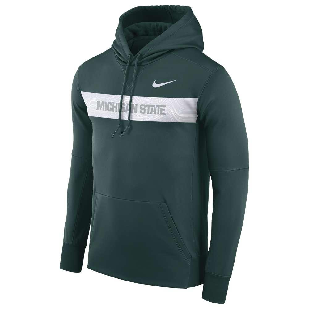 ナイキ Nike メンズ トップス パーカー【College Sideline Therma Seismic PO Hoodie】Green