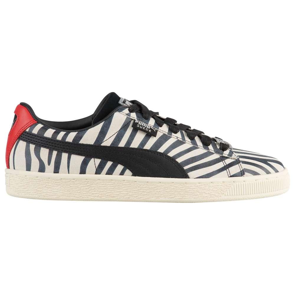 プーマ PUMA メンズ バスケットボール シューズ・靴【Suede Classic X】Black/White/Red