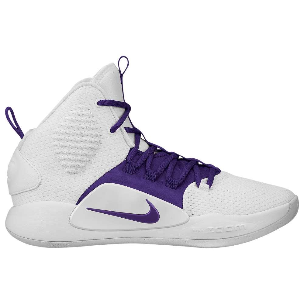 ナイキ Nike メンズ バスケットボール シューズ・靴【Hyperdunk X Mid】White/Field Purple