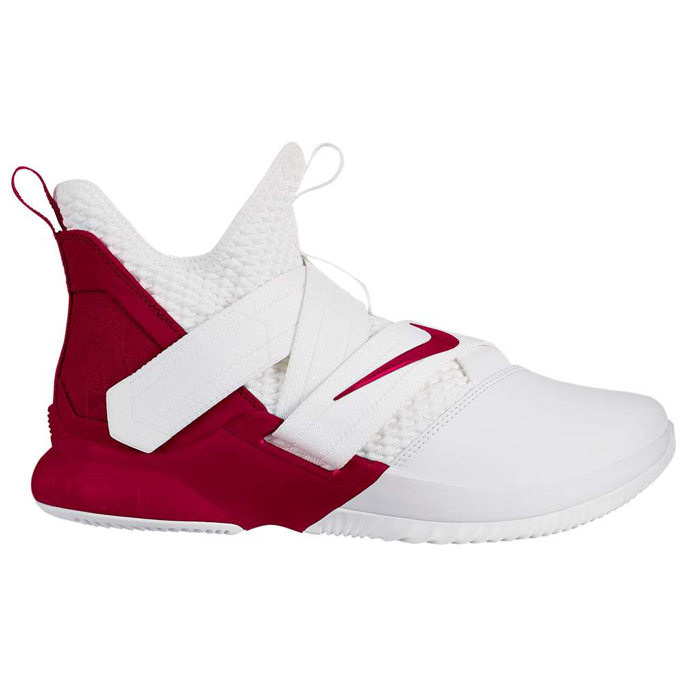 ナイキ Nike メンズ バスケットボール シューズ・靴【LeBron Soldier XII】White/Team Red