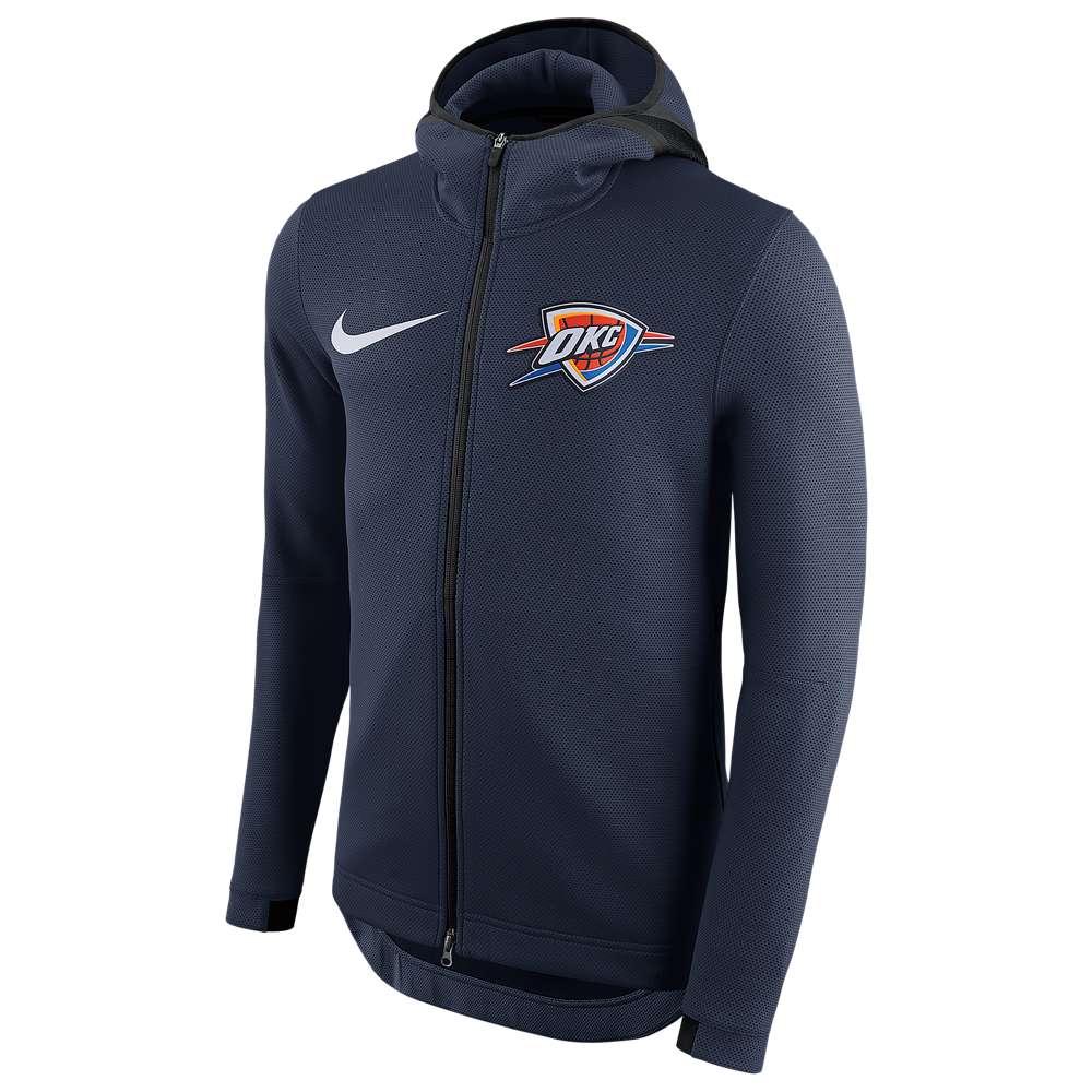 ナイキ Nike メンズ トップス パーカー【NBA Player Showtime Therma Full-Zip Hoodie】College Navy