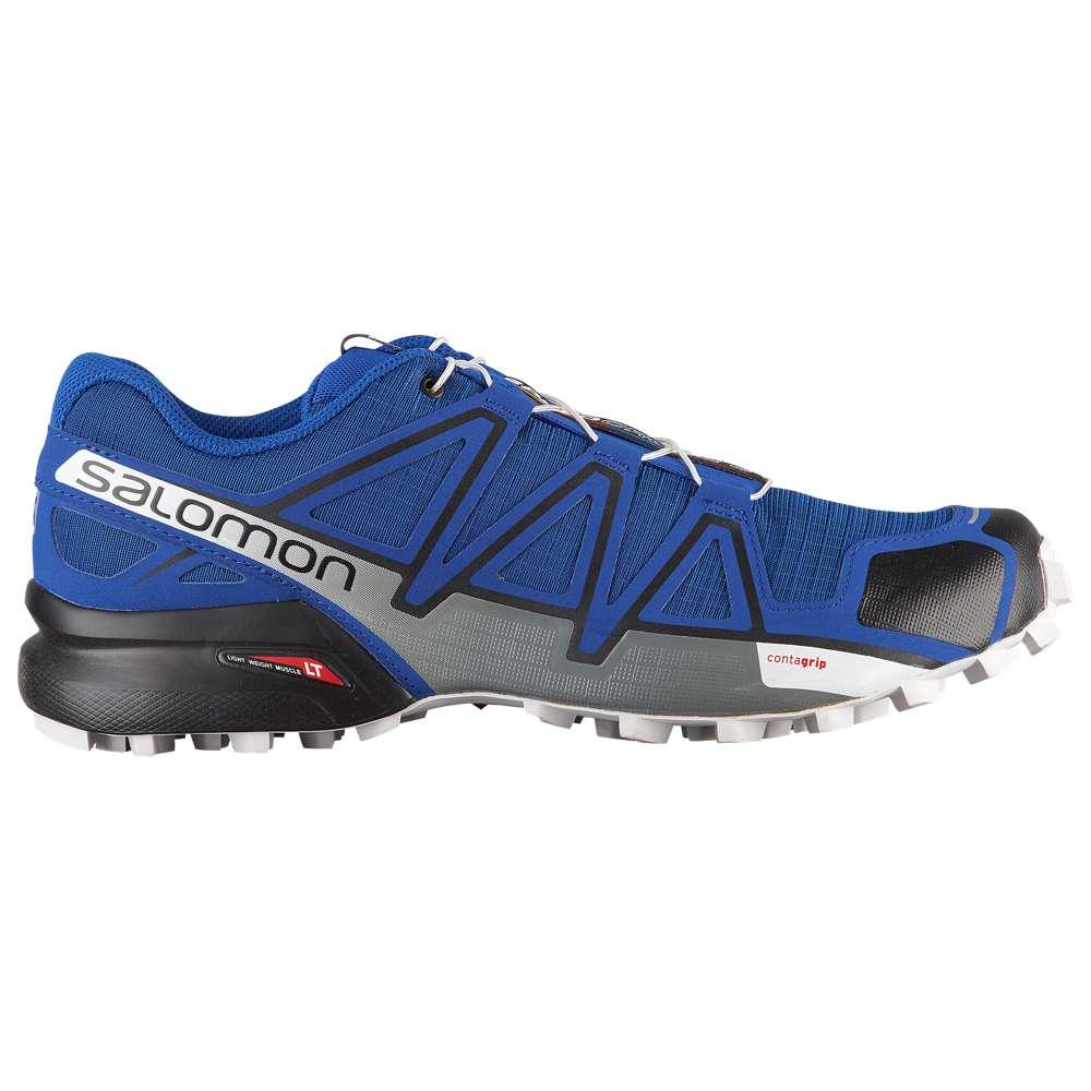 サロモン Salomon メンズ ランニング・ウォーキング シューズ・靴【Speedcross 4】Mazarine Blue/Black/White