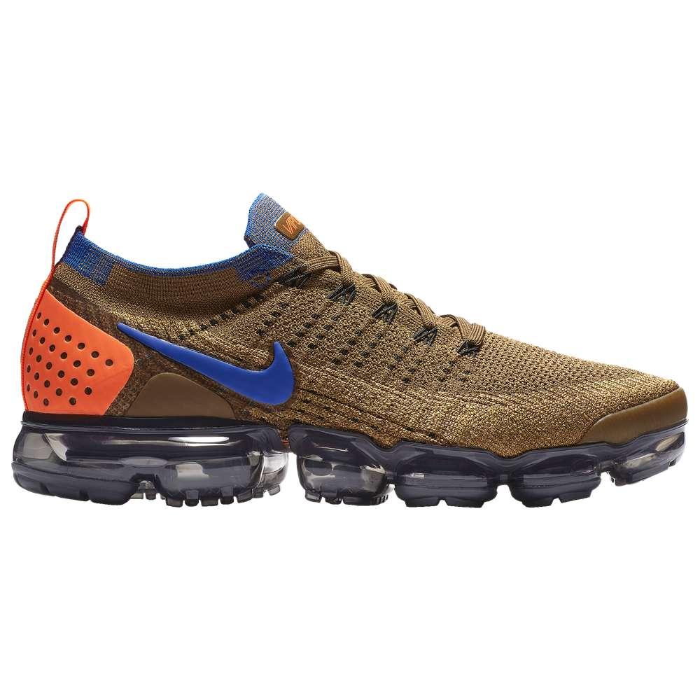 ナイキ Nike メンズ ランニング・ウォーキング シューズ・靴【Air Vapormax Flyknit 2】Golden Beige/Racer Blue/Gold