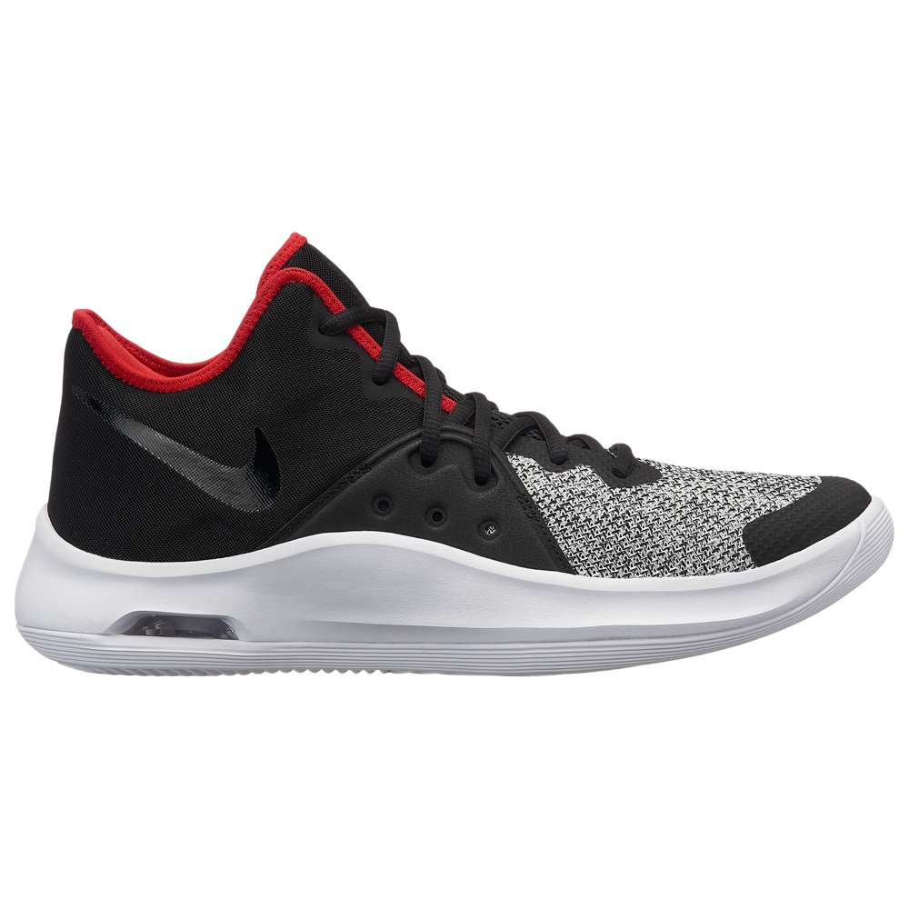 ナイキ Nike メンズ バスケットボール シューズ・靴【Air Versitile 3】Black/White/University Red