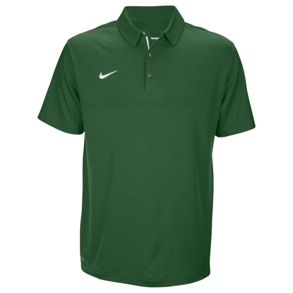 ナイキ Nike メンズ トップス ポロシャツ【Team Sideline Dry Elite Polo】Gorge Green/White