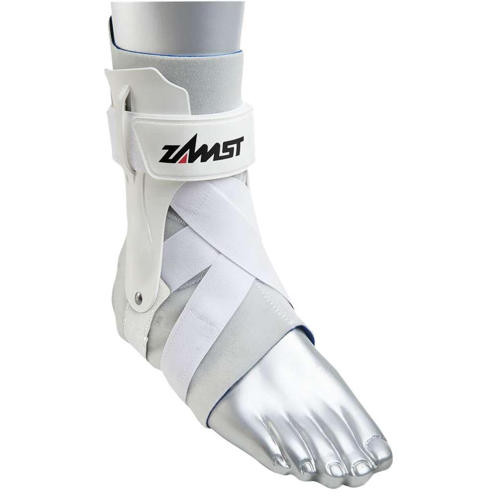 ザムスト Zamst メンズ フィットネス・トレーニング サポーター【A2-DX Ankle Brace】White