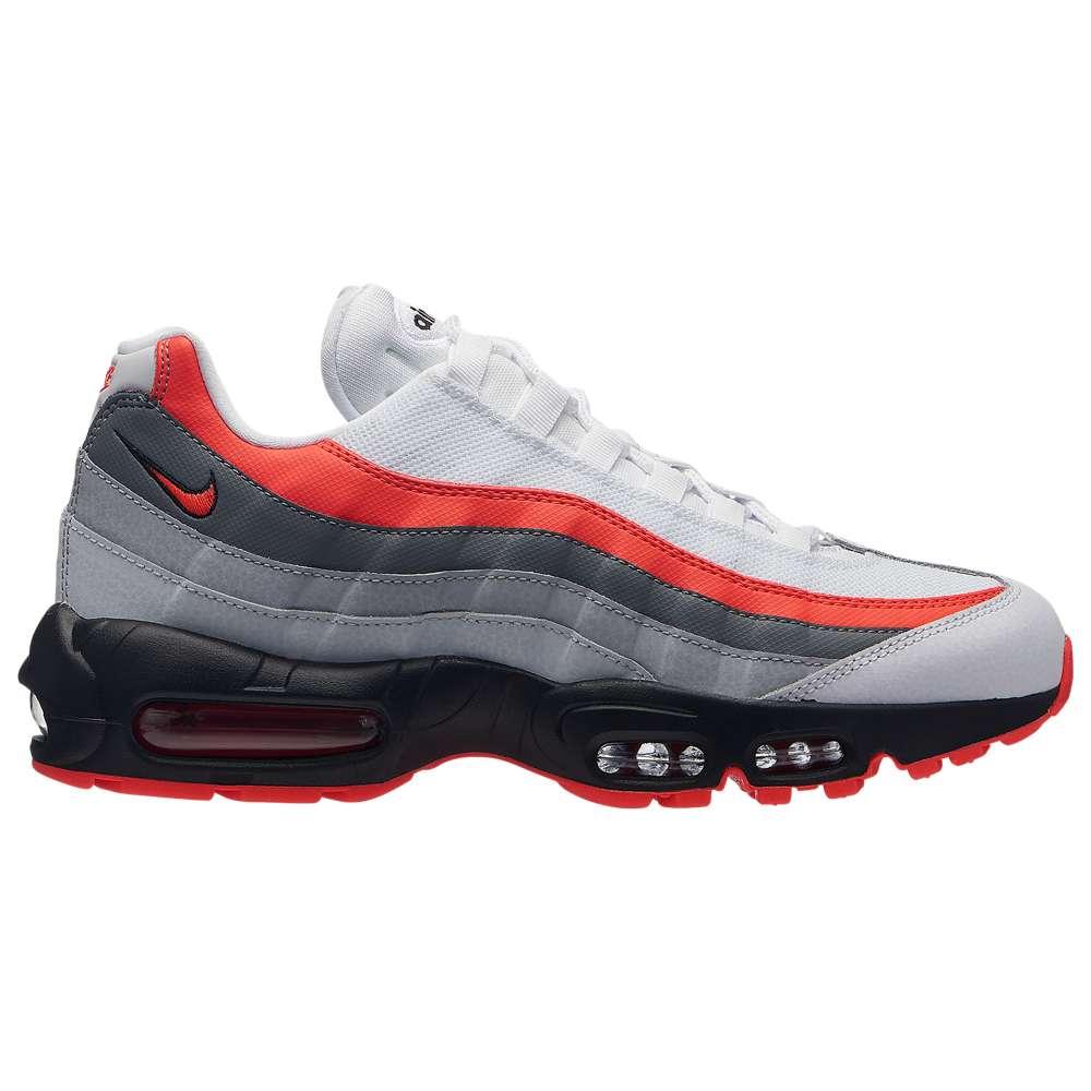 ナイキ Nike メンズ ランニング・ウォーキング シューズ・靴【Air Max 95】White/Bright Crimson/Black/Pure Platinum