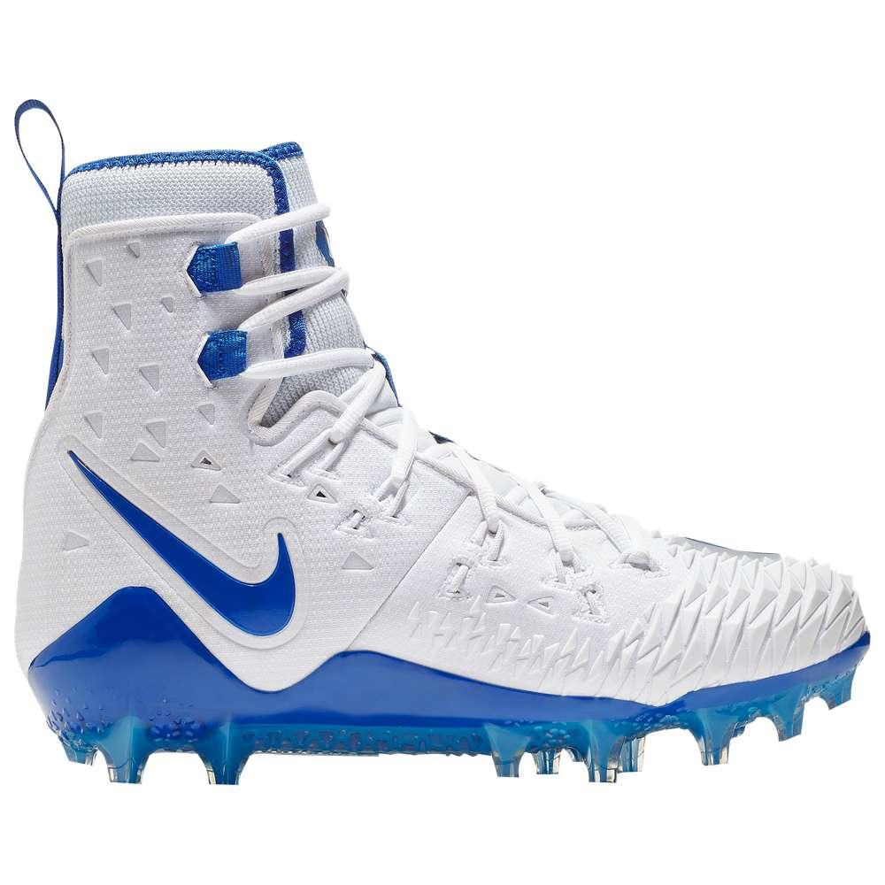 ナイキ Nike メンズ アメリカンフットボール シューズ・靴【Zoom Force Savage Elite TD】White/Game Royal/Photo Blue