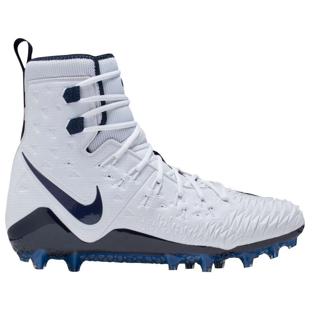 ナイキ Nike メンズ アメリカンフットボール シューズ・靴【Zoom Force Savage Elite TD】White/College Navy/College Navy