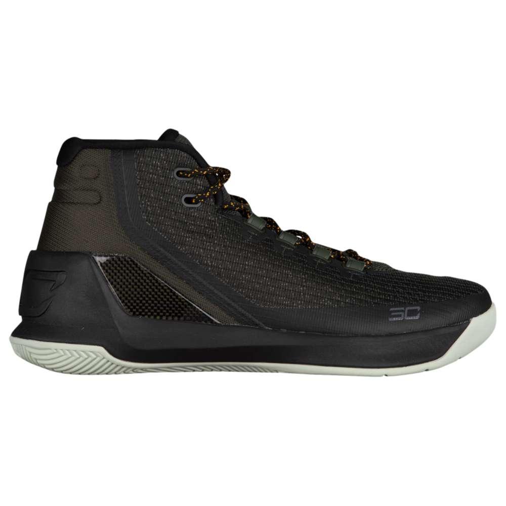 アンダーアーマー Under Armour メンズ バスケットボール シューズ・靴【Curry 3】Artillery Green/Black/Black