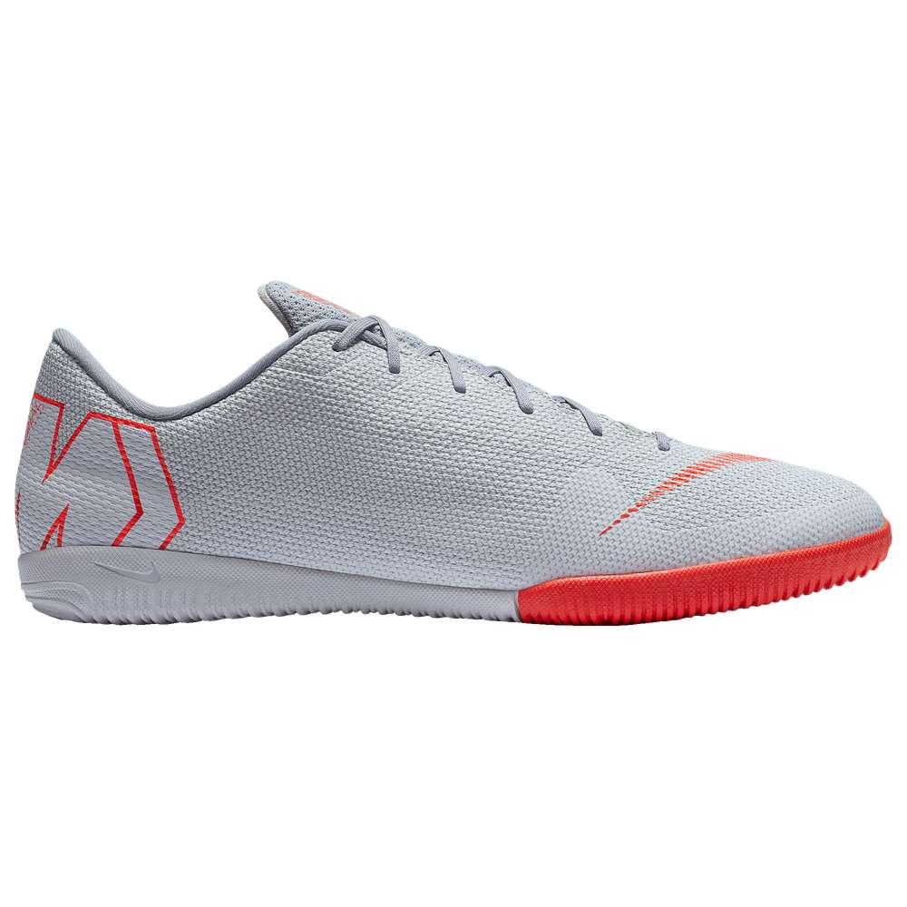 ナイキ Nike メンズ サッカー シューズ・靴【Mercurial VaporX 12 Academy IC】Wolf Grey/Bright Crimson/Pure Platinum