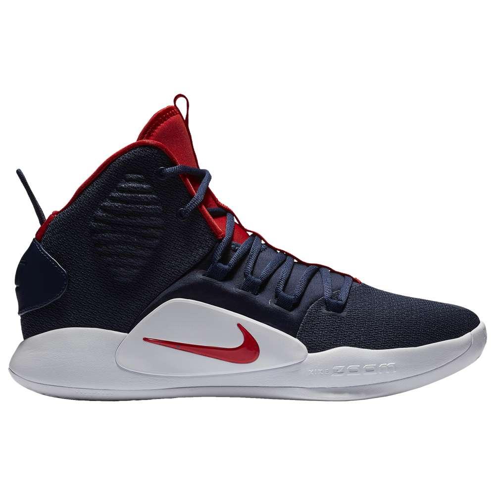 ナイキ Nike メンズ バスケットボール シューズ・靴【Hyperdunk X Mid】Midnight Navy/University Red/White
