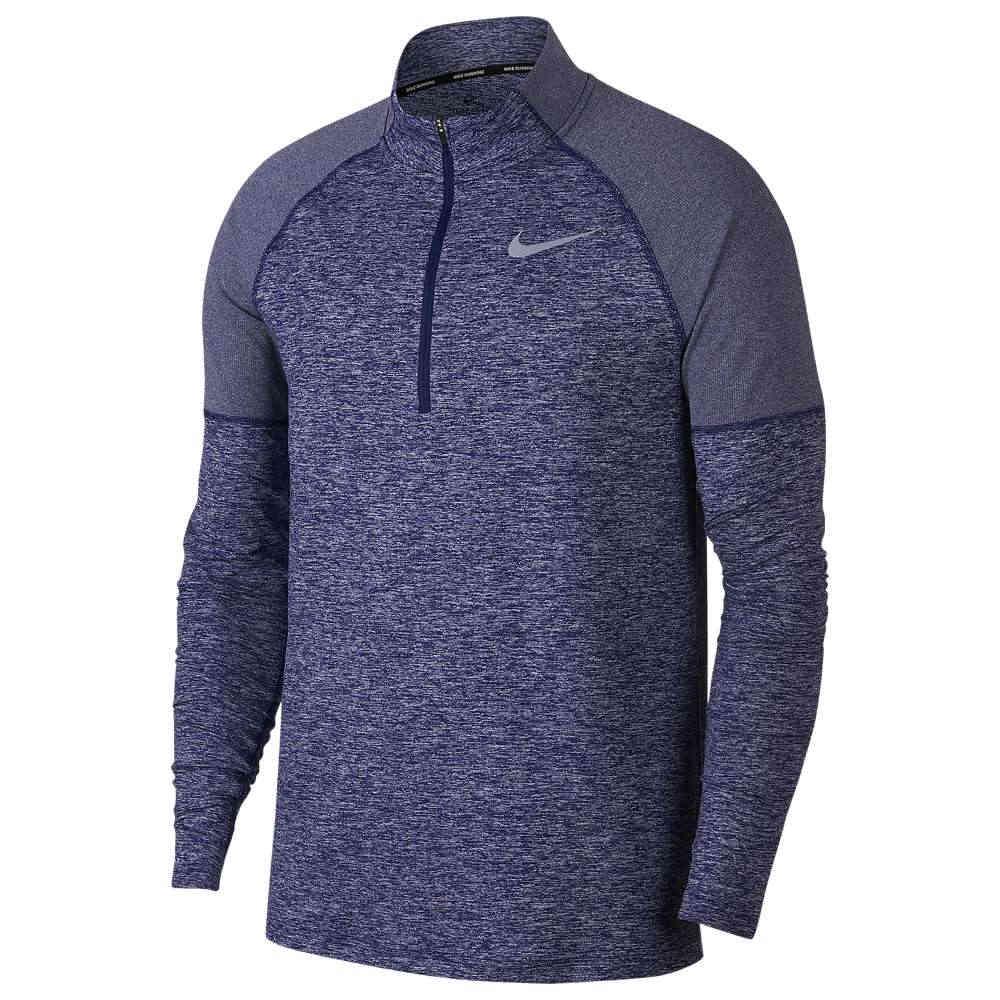 ナイキ Nike メンズ ランニング・ウォーキング トップス【Element 1/2 Zip 2.0】Obsidian/Blue Void/Heather/Reflective