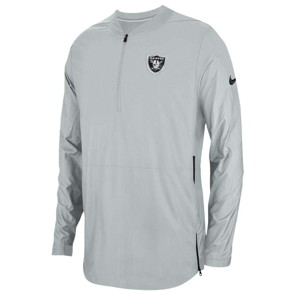 ナイキ Nike メンズ トップス【NFL Lockdown 1/2 Zip Top】Field Silver