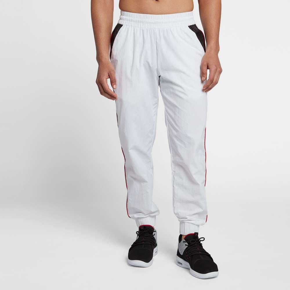 ナイキ ジョーダン Jordan メンズ バスケットボール ボトムス・パンツ【Retro 3 Pants】White/Gym Red/Black
