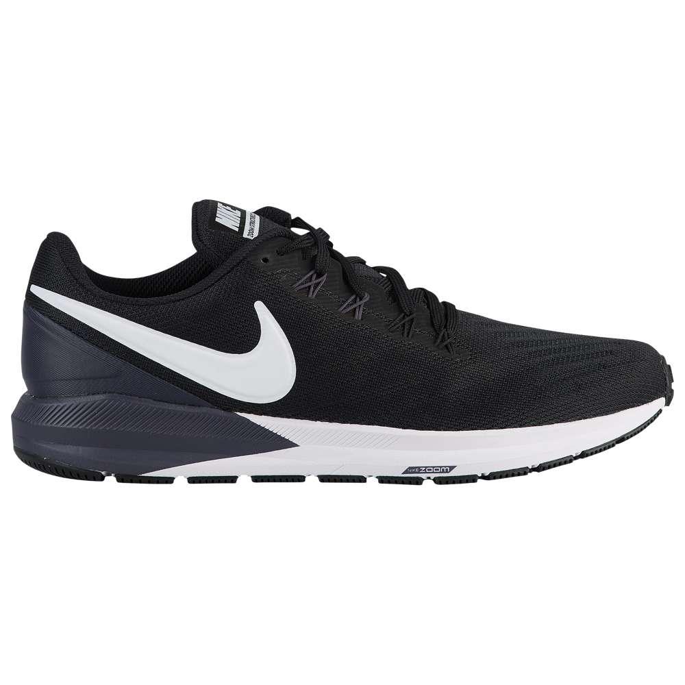 ナイキ Nike メンズ ランニング・ウォーキング シューズ・靴【Air Zoom Structure 22】Black/White/Gridiron