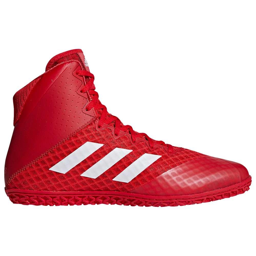 アディダス adidas メンズ レスリング シューズ・靴【Mat Wizard 4】Red/White/Red