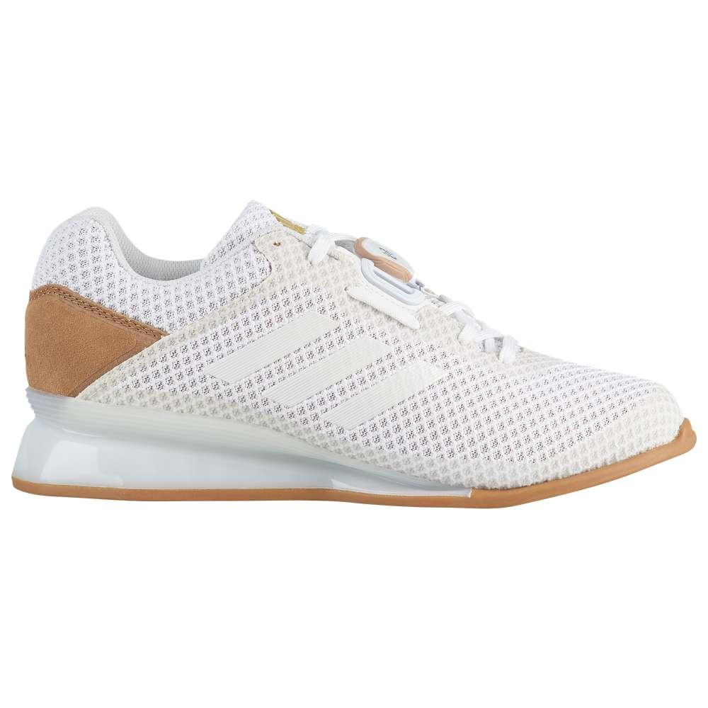 アディダス adidas メンズ フィットネス・トレーニング シューズ・靴【Leistung 16 II】Footwear White/Gold Metallic