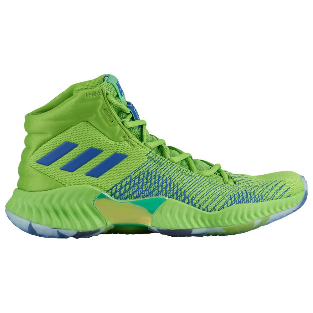 アディダス adidas メンズ バスケットボール シューズ・靴【Pro Bounce Mid 2018】Green/Royal
