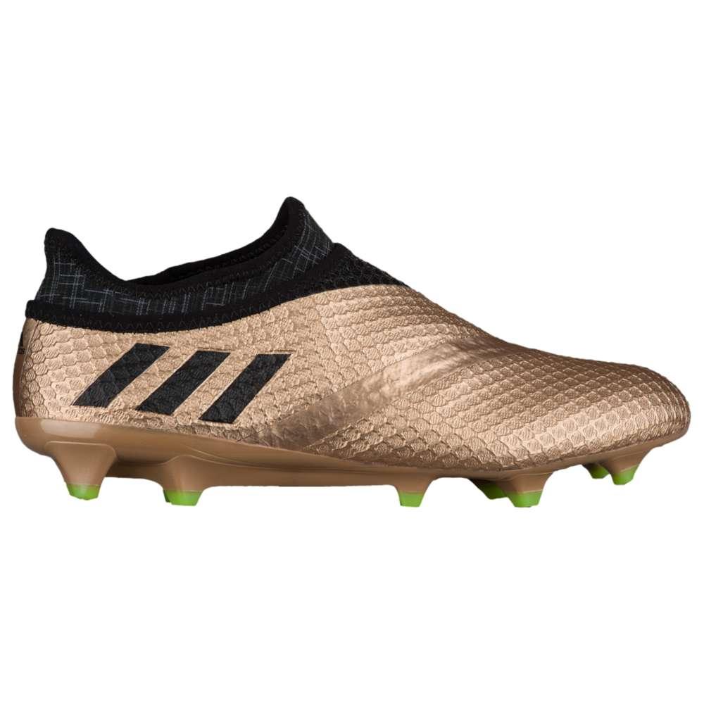 アディダス adidas メンズ サッカー シューズ・靴【Messi 16+ PureAgility FG】Copper Metallic/Core Black/Solar Green