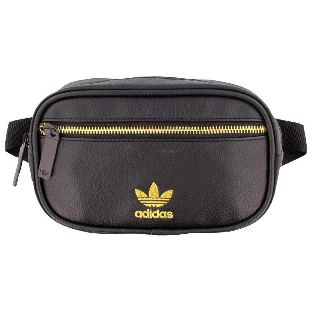 アディダス adidas Originals ユニセックス バッグ ボディバッグ・ウエストポーチ【PU Leather Waist Pack】Black/Gold