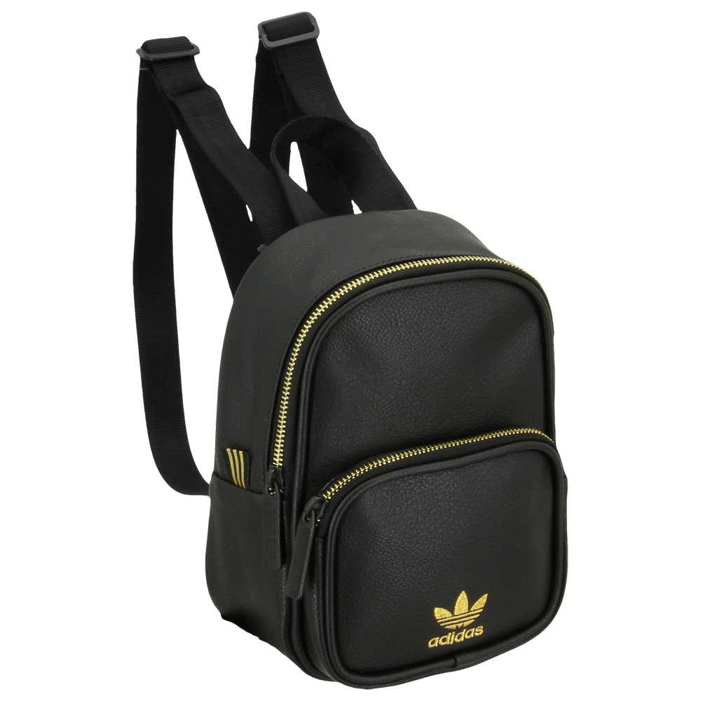 アディダス adidas Originals ユニセックス バッグ バックパック・リュック【Mini PU Leather Backpack】Black/Gold