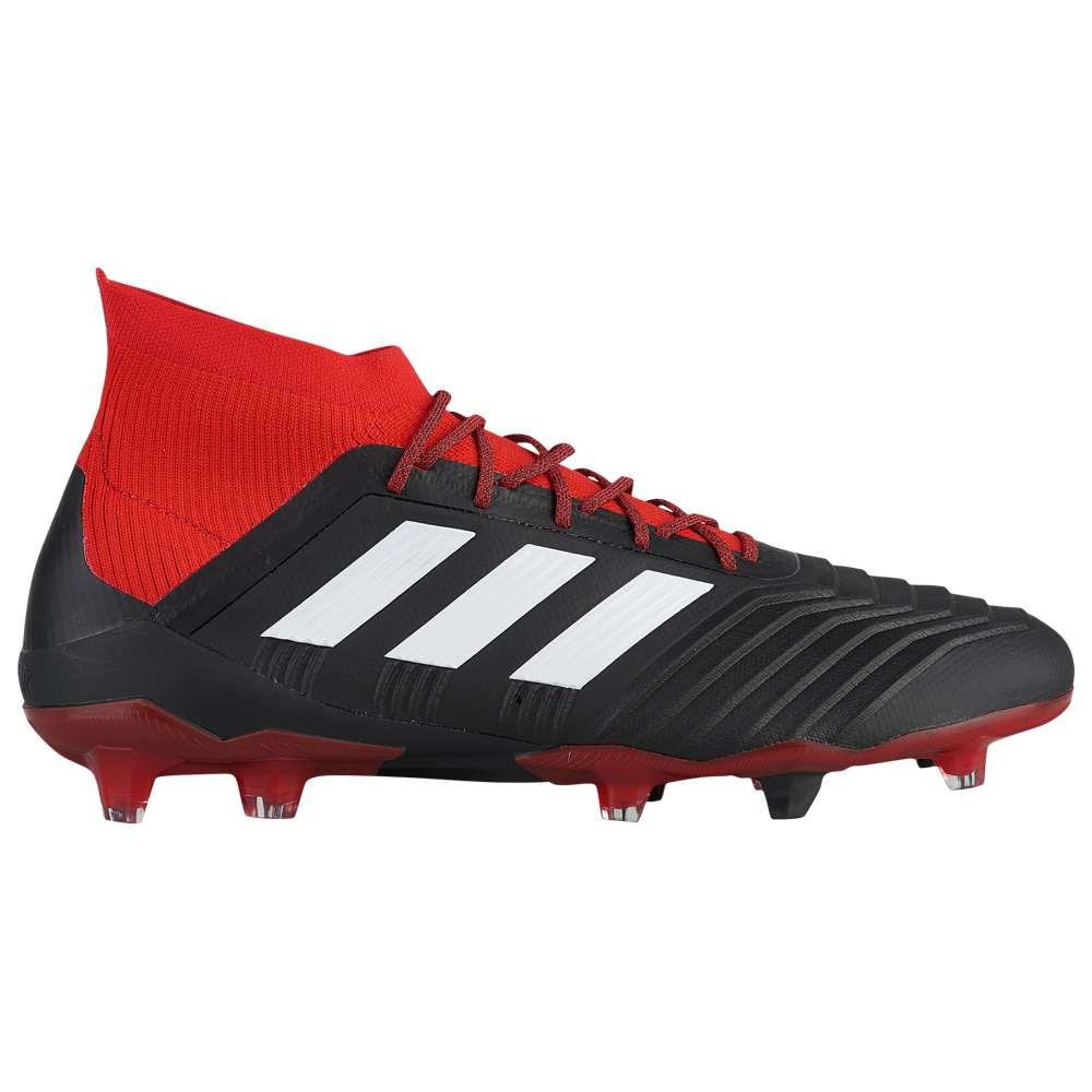 アディダス 18.1 adidas メンズ サッカー シューズ・靴 サッカー【Predator 18.1 FG FG】Core】Core Black/Footwear White/Red, セイカチョウ:1c1f433d --- acessoverde.com