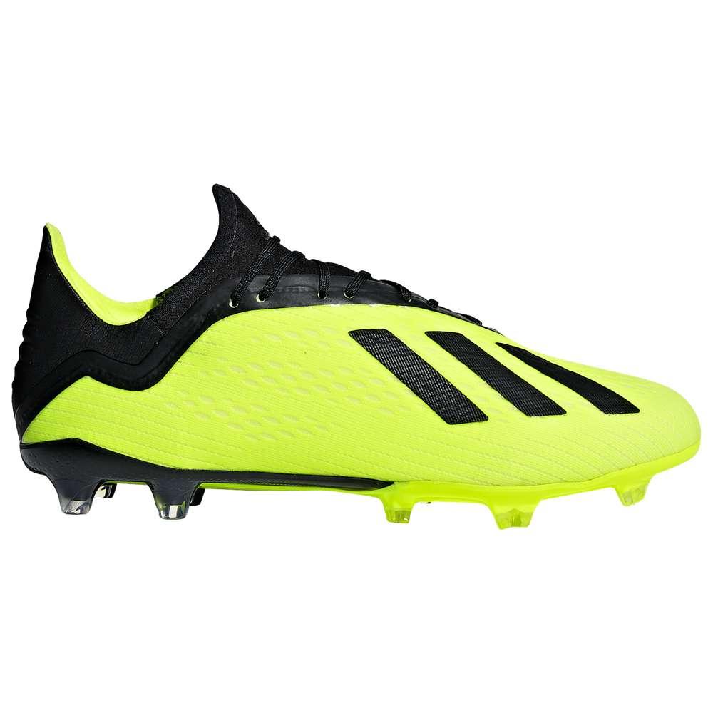 アディダス adidas メンズ サッカー シューズ・靴【X 18.2 FG】Solar Yellow/Core Black/Footwear White