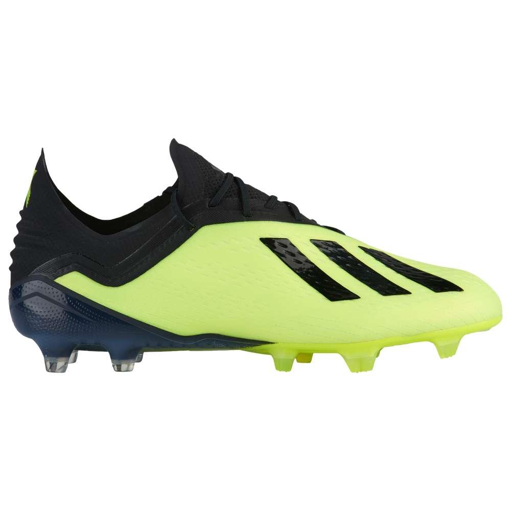 アディダス adidas メンズ サッカー シューズ・靴【X 18.1 FG】Solar Yellow/Core Black/Footwear White