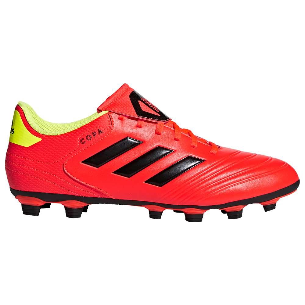 アディダス adidas メンズ サッカー シューズ・靴【Copa 18.4 FG】Solar Red/Core Black