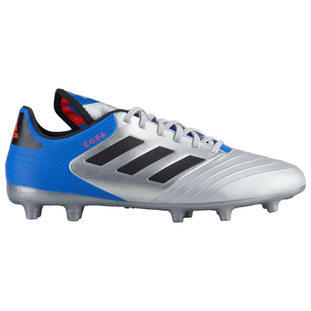アディダス adidas メンズ サッカー シューズ・靴【Copa 18.3 FG】Silver Metallic/Core Black/Football Blue