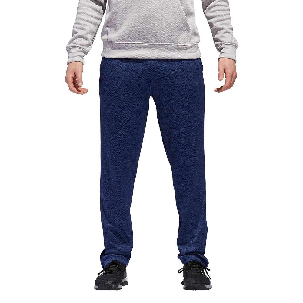 アディダス adidas メンズ フィットネス・トレーニング ボトムス・パンツ【Team Issue Fleece Tapered Pants】College Navy/White