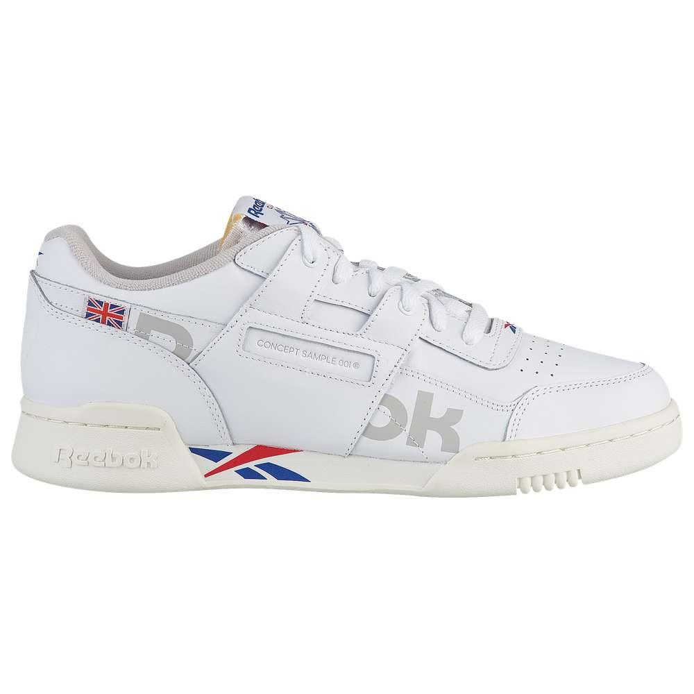 リーボック Reebok メンズ フィットネス・トレーニング シューズ・靴【Workout Plus Altered】White/Tm Dark Royal/Exc Red/Snow Grey/Chalk